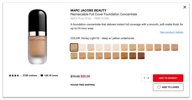 Sephora Canada Hot Spring Sale 50 Off Marc Jacobs Foundation 2020 Canadian Deals Spring Savings Event - Glossense