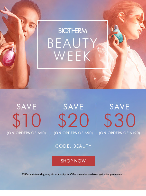 Biotherm Canada Beauty Week Up to 30 Off Free Shipping Canadian Deals Sale - Glossense