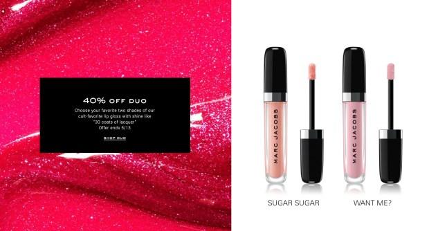 Marc Jacobs Beauty Sephora Canada Save 40 Off Enamored Hi-Shine Lip Lacquer Lipgloss 2020 Canadian Deals - Glossense