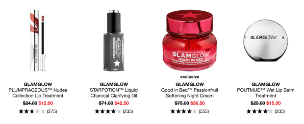 Sephora Canada Hot Summer Sale Select GlamGlow Products 2020 Canadian Deals - Glossense