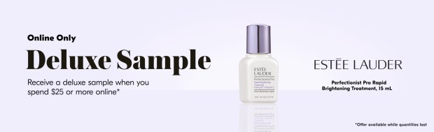 Shoppers Drug Mart SDM Beauty Boutique Canada May 2020 Canadian Freebies Deals GWP Free Estee Lauder Perfectionist Treatment Mini Deluxe Sample - Glossense