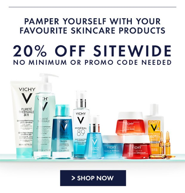 Vichy Canada 20 Off for Mother's Day Canadian Deals Sale - Glossense