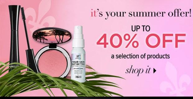 IT Cosmetics Canada Summer Solstice Sale Up to 40 Off Free Shipping 2020 Canadian Deals - Glossense