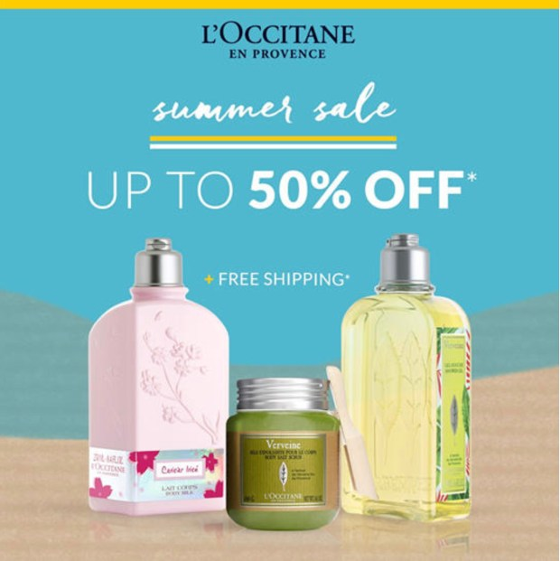 L'Occitane Canada Summer Sale Up to 50 Off 30 Off Gift Sets June 2020 Canadian Deals - Glossense