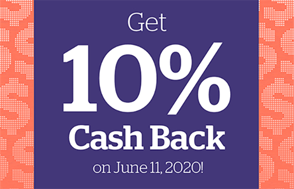 Rakuten Canada Get 10 Canadian Cash Back June 11 2020 ONLY - Glossense