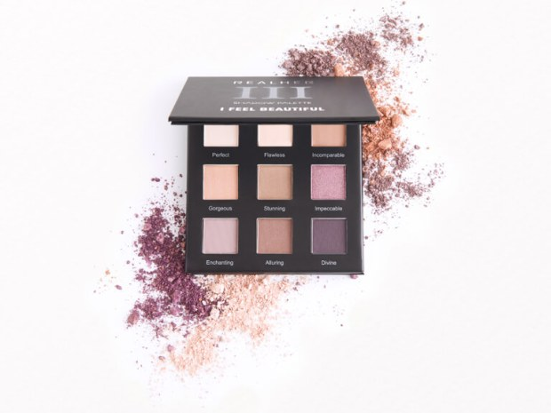 Ipsy Canada Free Realher I Feel Beautiful Eyeshadow Palette Canadian Beauty Subscription July 2020 Rewards - Glossense