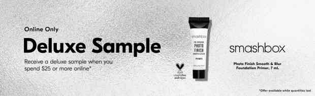 Shoppers Drug Mart SDM Beauty Boutique Canada 2020 Canadian Freebies Deals GWP Free Smashbox Photo Finish Smooth Blur Primer Mini Deluxe Sample July - Glossense