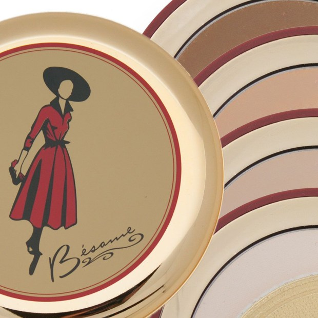 Besame Cosmetics Canada Cashmere Powder Compact Clearance Get 2 for 1 or 25 Off Canadian Deals - Glossense