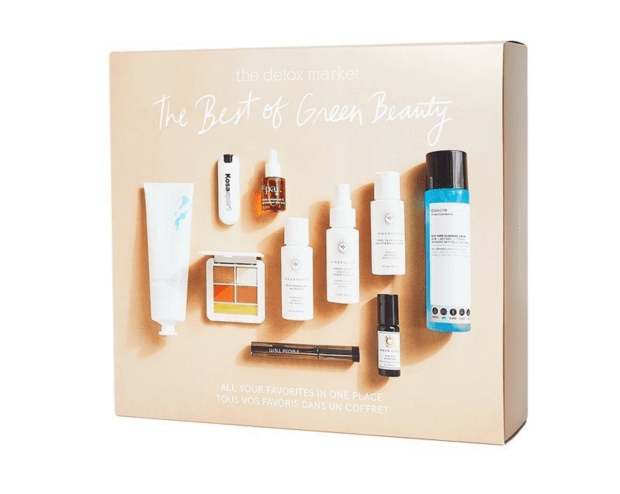Indigo Canada The Detox Market The Best of Green Beauty Gift Set Canadian Deals Sale - Glossense
