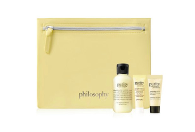 Beauty by Shoppers Drug Mart Canada Shop Philosophy Receive Free Purity Made Simple Essentials Set Canadian Gift with Purchase Offer - Glossense