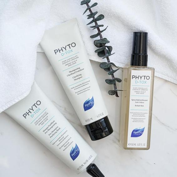 Phyto Paris Canada First 500 Get 2 Free Phyto D-Tox Haircare Samples Free Mask Shampoo Canadian Freebies Sample Offer - Glossense