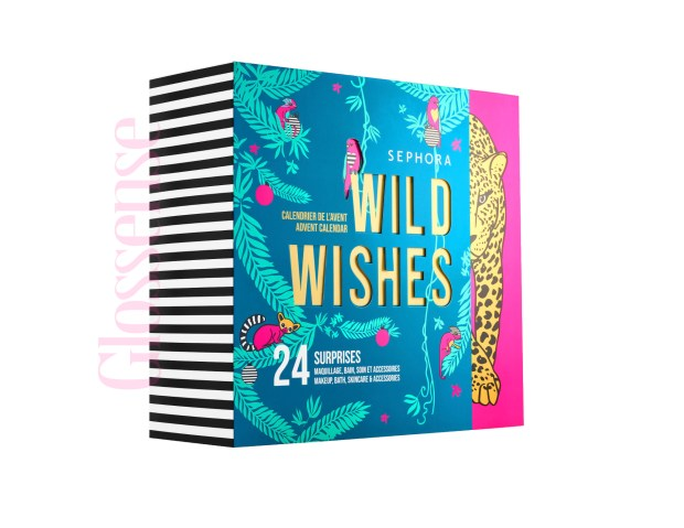 Sephora Canada Sneak Peek Sephora Collection Wild Wishes 2020 Canadian Holiday Christmas Beauty Advent Calendar - Glossense