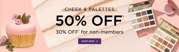 Tarte Cosmetics Canada Birthday Week Day 3 50 Off Cheek Palettes 2020 HOT Canadian Deals Promo Code - Glossense