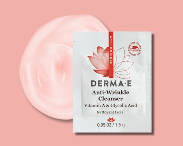Canadian Freebies Derma E Canada Free Anti-Wrinkle Cleanser Sample - Glossense