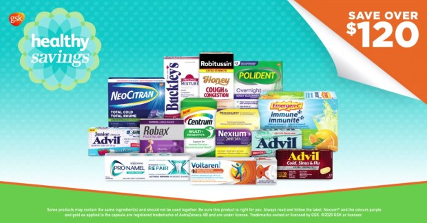 GSK Healthy Savings Canada Save on Beauty Hygiene with New Coupons Offers Program Canadian Deals - Glossense