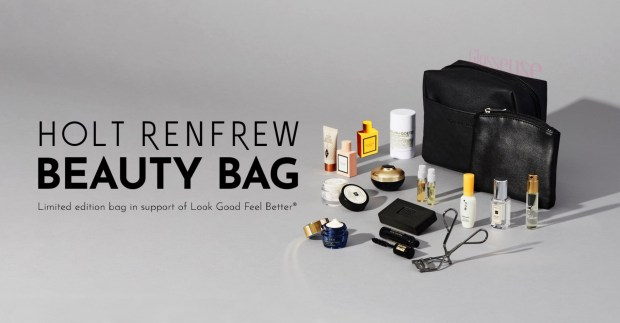 Holt Renfrew Canada Beauty Bag In Support Of Look Good Feel Better Hot Canadian Deals - Glossense