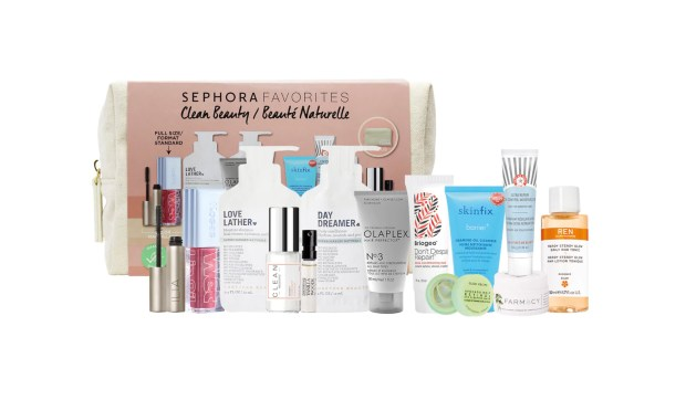Sephora Canada Favourites Set Clean Beauty Kit October Fall 2020 Collection Canadian New Releases - Glossense