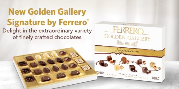 Shopper Army Canada New Mission Apply to Try Review Ferrero Golden Gallery Signature Box of Chocolates Canadian Rebate Sampling Opportunity - Glossense