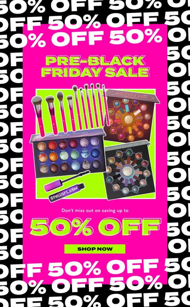 BH Cosmetics Canada 2020 Pre-Black Friday Sale Canadian Deals - Glossense