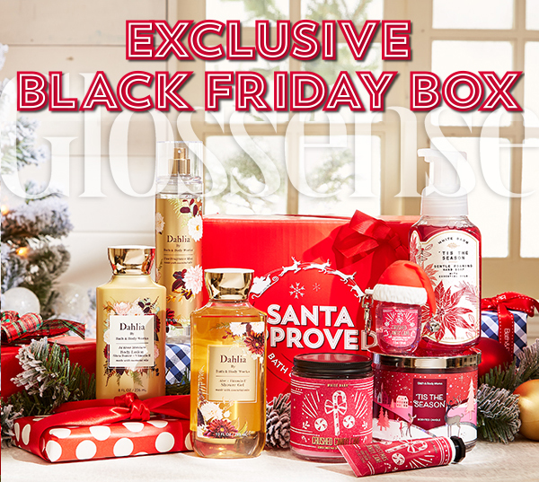 Bath Body Works Canada 2020 Black Friday Event Exclusive Santa Approved Christmas Box Canadian Deals 2021 - Glossense
