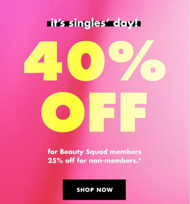 ELF Cosmetics Canada Singles Day Sale Save 40 Off as a Beauty Squad Member 2020 Canadian Deals - Glossense