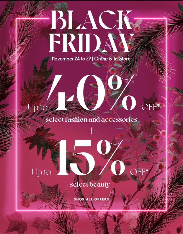 Holt Renfrew Canada 2020 Black Friday Canadian Sale Deals Savings 2021 - Glossense