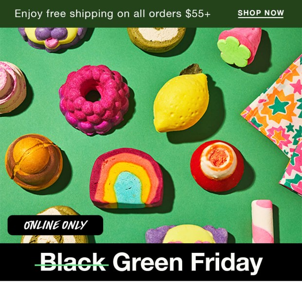 Lush Canada 2020 Black Friday Green Friday Canadian Deals New Releases - Glossense