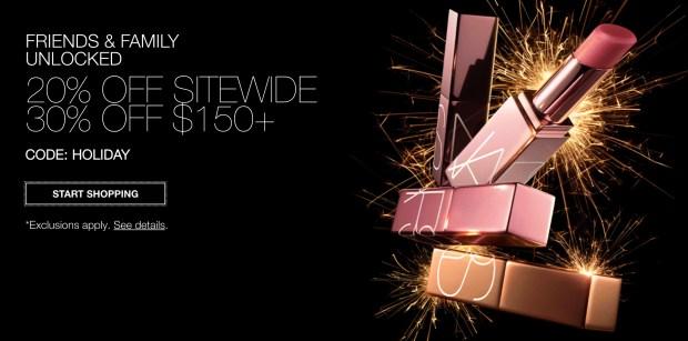 Nars Cosmetics 2020 Black Friday Friends Family Sale Canadian Deals 2021 - Glossense