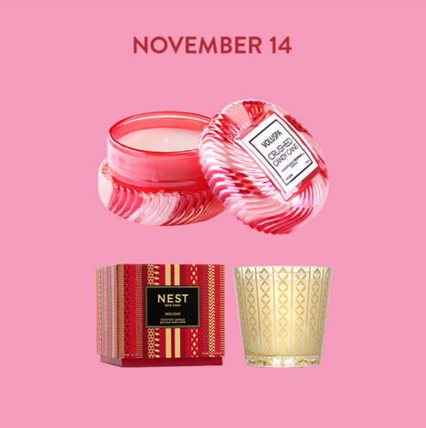 Nordstrom Canada November 14 2020 Deal Save Up to 25 Off Voluspa Nest Fragrances Canadian Beauty Daily Deals Event Sale - Glossense