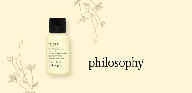 Shoppers Drug Mart Canada Free Philosophy Purity Made Simple Cleanser Deluxe Mini Sample Purchase - Glossense
