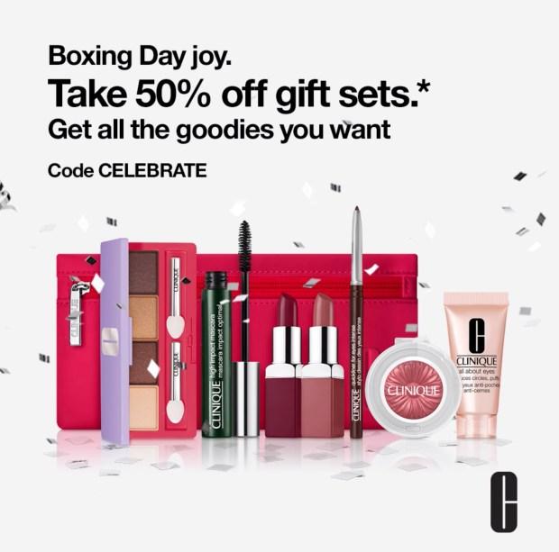 Clinique Canada Boxing Day 2020 Sale Canadian Deals - Glossense