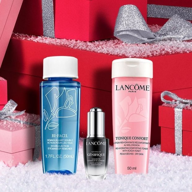 Lancome Canada Virtual Advent Calendar Offer Free Deluxe Samples - Glossense