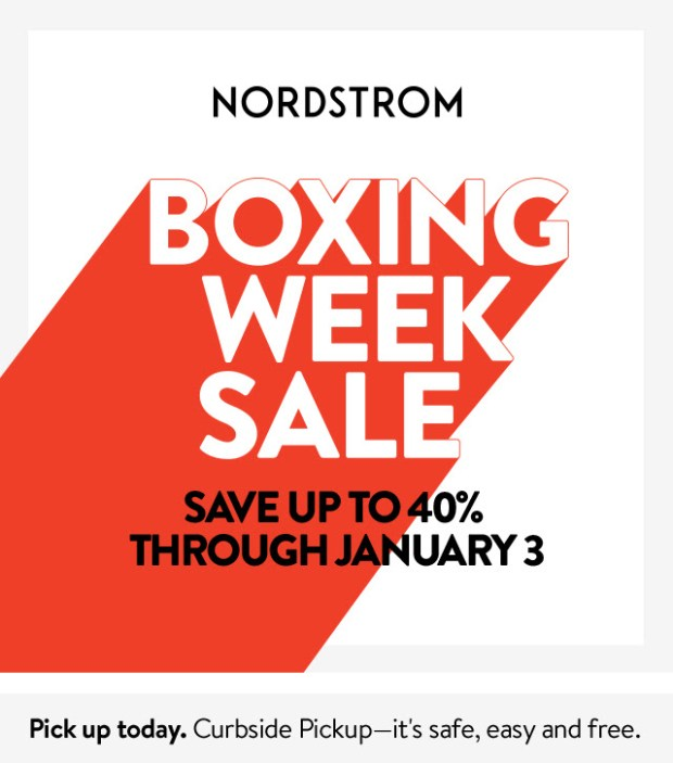 Nordstrom Canada 2020 Boxing Week Sale Canadian Deals - Glossense