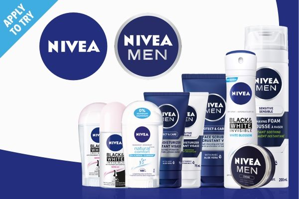 Shopper Army Canada Apply to Try Review Nivea Men Personal Care Products for Free - Glossense