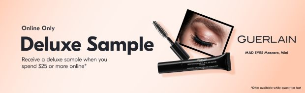 Shoppers Drug Mart Canada Free Guerlain Mad Eyes Mascara deluxe sample - Glossense