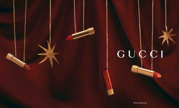 Holt Renfrew Canada Gucci 2021 Lunar New Year Rouge Lipsticks New Emmy Red Shade - Glossense