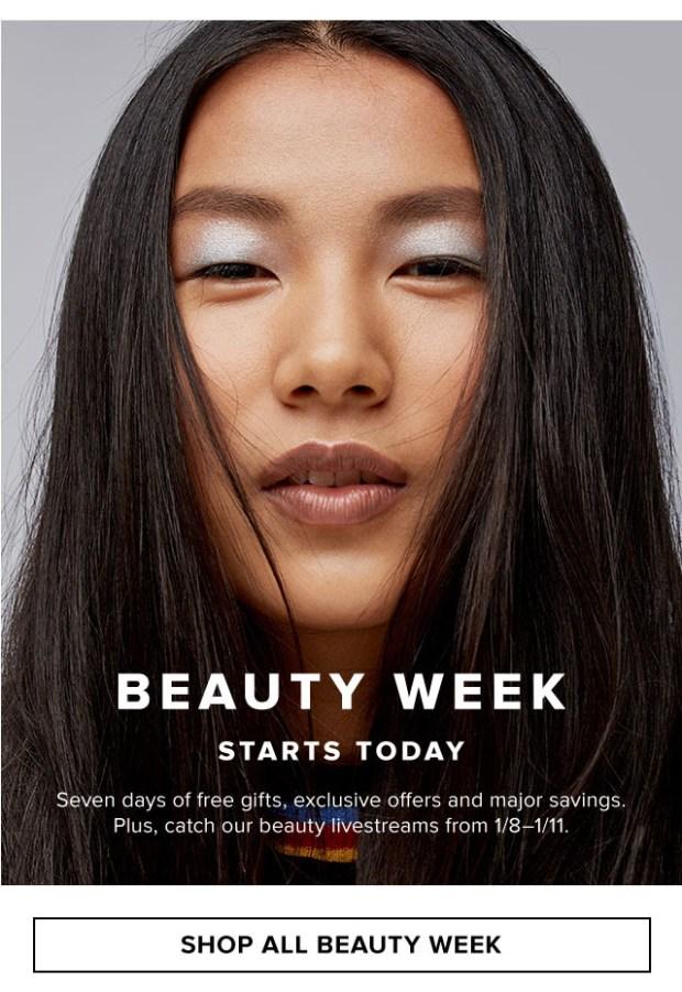 Hudson's Bay Canada Beauty Week January 2021 Canadian Deals - Glossense