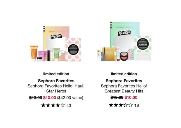 Sephora Canada Favorites on Sale Save on Hello Sets Kits January 2021 - Glossense