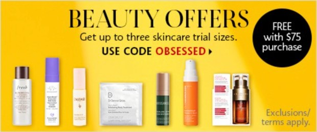 Sephora Canada Promo Code Pick Up to 3 Free Deluxe Mini Samples Jan 2021 - Glossense