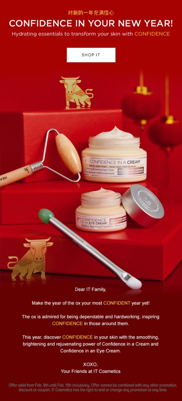 IT Cosmetics Canada 2021 Lunar New Year Confidence Sale Gift Sets Canadian Deals - Glossense