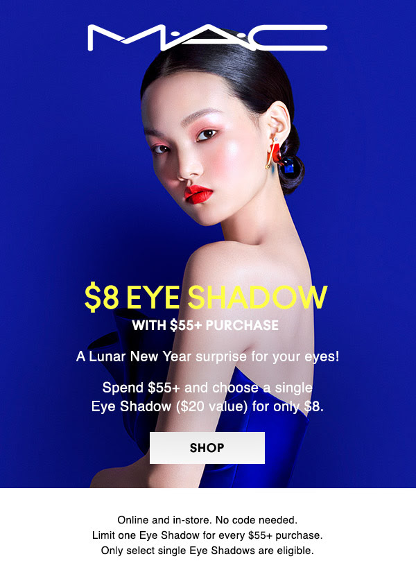 MAC Cosmetics 2021 Lunar New Year Surprise Eyeshadow Canadian Deal - Glossense