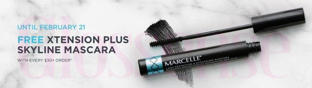 Marcelle Canada Free Xtension Plus Skyline Mascara National Lash Day 2021 - Glossense
