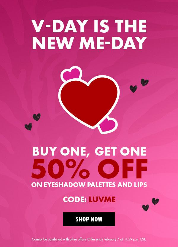 Nyx Cosmetics Canada BOGO Valentine's Day Sale 2021 Canadian Promo Code - Glossense