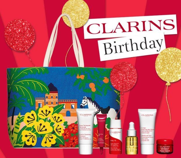Clarins Canada Free Birthday Gift Set Canadian Deals 2021 - Glossense