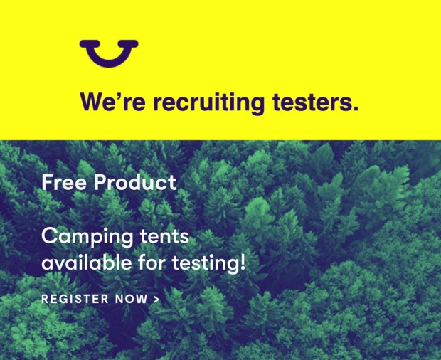 Home Tester Club Canada Register to Test a Camping Tent Canadian Freebies Sampling - Glossense