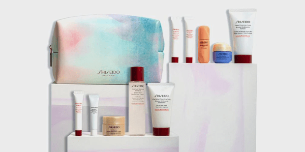 Hudson's Bay Canada Free Shiseido 6-pc Spring Gift Canadian Deals 2021 - Glossense