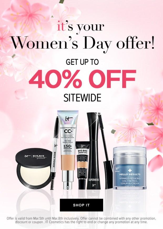 IT Cosmetics International Women's Day Sale 2021 Canadian Deals - Glossense
