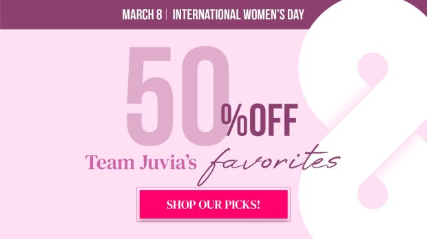Juvia's Place Canada International Women's Day Sale 2021 - Glossense