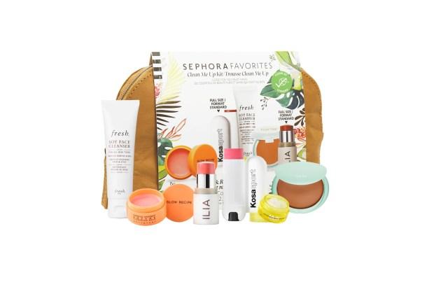 Sephora Canada Favorites Sets Clean Me Up Kit Spring 2021 - Glossense