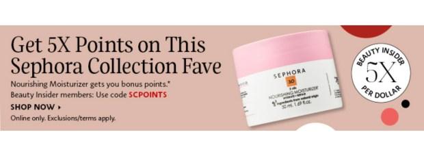 Sephora Canada Get 5x Beauty Insider Points WUB Sephora Collection Nourishing Moisturizer - Glossense